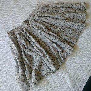 Brandy Melville Floral Print Skirt